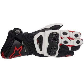 GP PRO Racing Glove black / white / red S