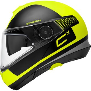 Schuberth C4 Pro Klapphelm Legacy Yellow