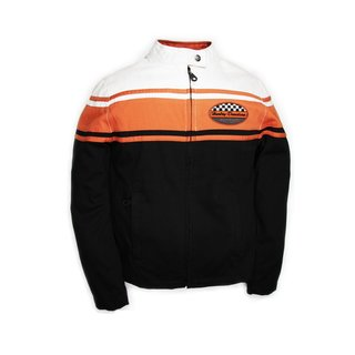 HD Drag Strip Damenjacke schwarz / orange