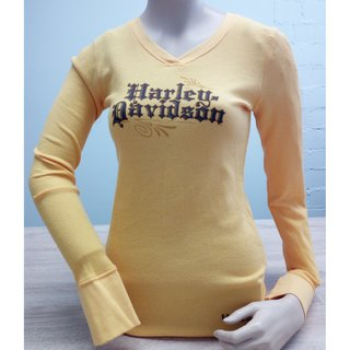 HD Citrus V-Neck Sweatshirt Damen