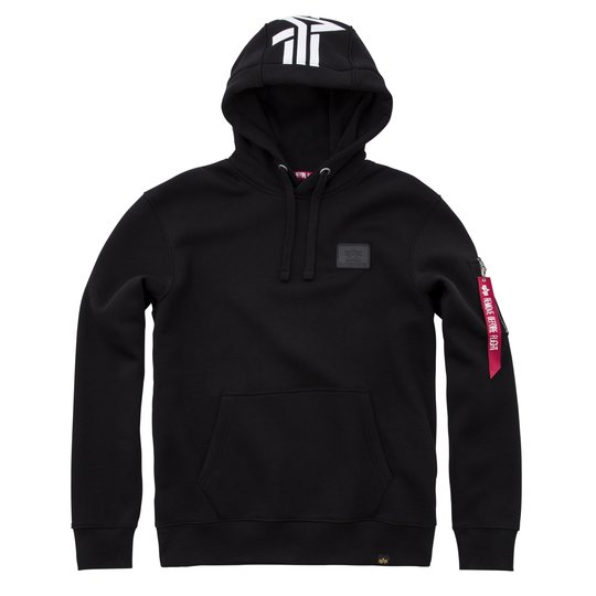 Alpha Industries Back Print Hoody schwarz 2XL
