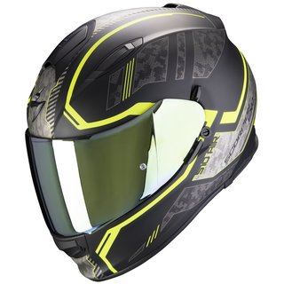 Scorpion Exo-510 Air Occulta Matt-Black / Neon-Yellow