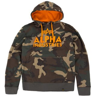 Alpha Industries Foam Print Hoody wdl / camo 65