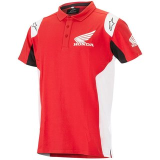 Honda Polo Shirt red