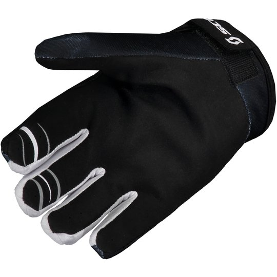 Scott 350 Dirt Glove white / black
