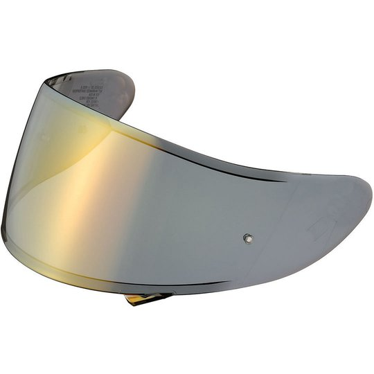 Shoei CX-1V Visier gold verspiegelt