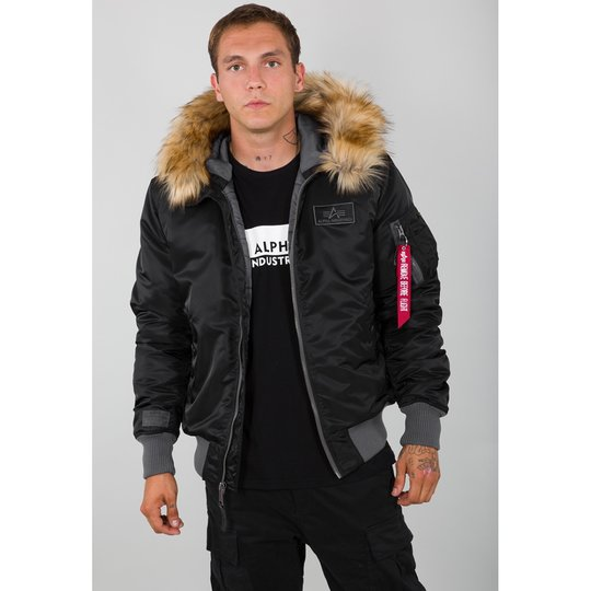 Alpha Industries Bomber Jacke MA-1 Hooded CW XL
