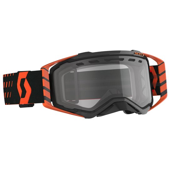 Scott Goggle Prospect Enduro orange / schwarz / clear