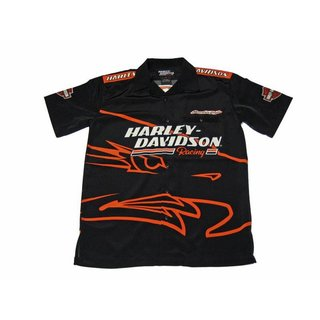 HD Short Sleeve Screaming Eagle Black