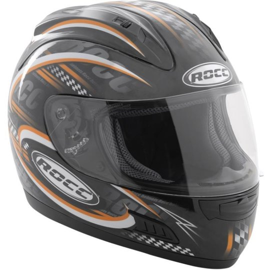 ROCC 300 Full-Face Helmet orange