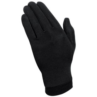 Held under-gloves silk black