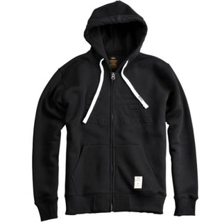 Alpha Industries 3D Zip Hoody schwarz
