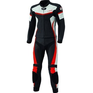 Held Spire leathersuit black / red