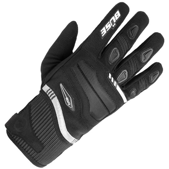 Büse glove Fresh black / white