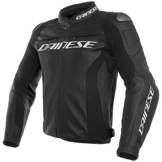 Dainese Racing 3 Leather Jacket black