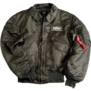 Alpha Industries Bomber Jacke CWU 45 Rep.Grey