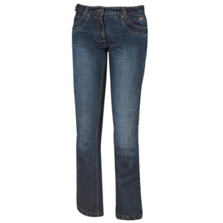 Held Crackerjane Motorradjeans Damen blau 28